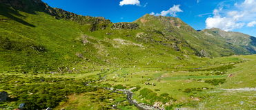 Pyrenees. Andorra Royalty Free Stock Images
