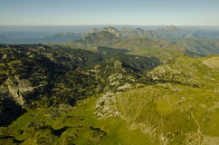 Pyrenees atlantycki krajobraz Zdjęcie Royalty Free