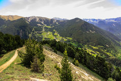 Pyrenees the beauty of Andorra Stock Photos
