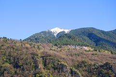 Pyrenees berg Arkivbilder