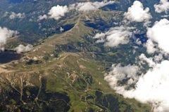 Pyrenees-Berge lizenzfreie stockfotos