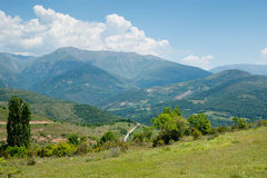 The Pyrenees in Catalonia Stock Photography