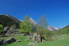 Pyrenees Catalonia Royaltyfri Fotografi