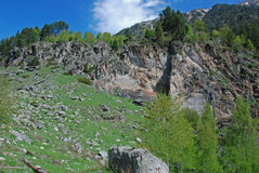 Pyrenees Catalonia Royaltyfri Bild