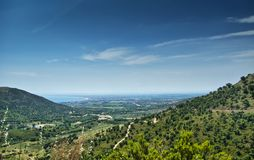 Pyrenees and Costa Brava Stock Images