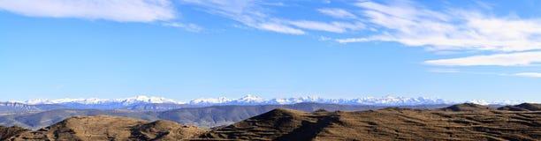 Pyrenees españoles Fotos de archivo