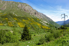 Pyrenees in France Stock Images