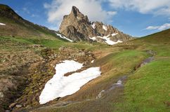 Pyrenees. France summer Royalty Free Stock Images