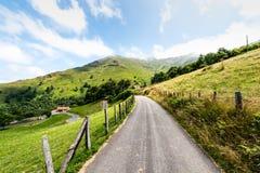 Pyrenees franceses Imagen de archivo libre de regalías