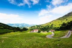 Pyrenees franceses Foto de archivo libre de regalías