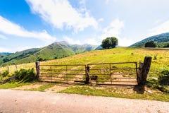 Pyrenees franceses Imagenes de archivo