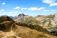 Pyrenees francesi Immagini Stock