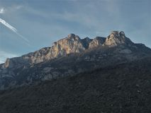 Pyrenees francesi Fotografia Stock