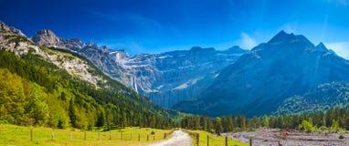 Pyrenees góry Zdjęcie Stock