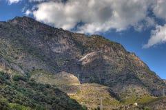 Pyrenees intorno alla La Vella dell'Andorra Fotografia Stock Libera da Diritti