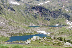 Pyrenees in July. Landscape of the Pyrenees in Andorra Stock Image