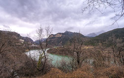 The Pyrenees Landscape Royalty Free Stock Images