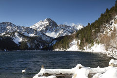 Pyrenees mountain view Royalty Free Stock Images