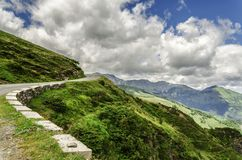Pyrenees mountains Stock Images