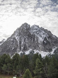 Pyrenees Mountains clouds Stock Image