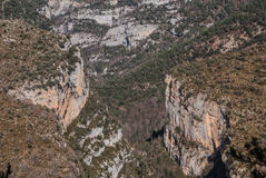 Pyrenees mountains frontera del Portalet, Huesca, Aragon, Spain Royalty Free Stock Photo