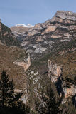 Pyrenees mountains frontera del Portalet, Huesca, Aragon, Spain Stock Photo