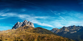 Pyrenees mountains Stock Photo