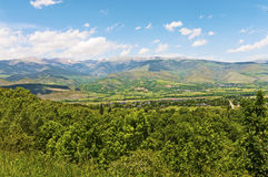 Pyrenees mountains landscape Royalty Free Stock Image