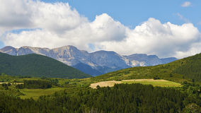 Pyrenees mountains landscape Stock Photography