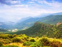 Pyrenees mountains landscape Stock Photos