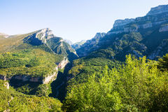 Pyrenees Mountains landscape Stock Photo