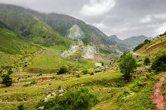 Pyrenees mountains landscape Royalty Free Stock Photos
