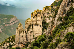 Pyrenees mountains landscape Royalty Free Stock Photography