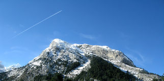 The Pyrenees Mountains Royalty Free Stock Images