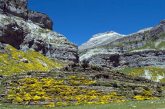 Pyrenees Mountains in Spain Royalty Free Stock Photos