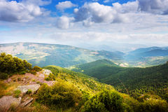 Pyrenees mountains in summer Stock Image
