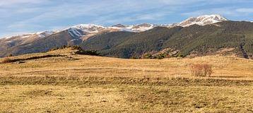 Pyrenees panorama, Catalonia Royalty Free Stock Photography