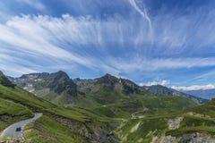 Pyrenees peaks Stock Image