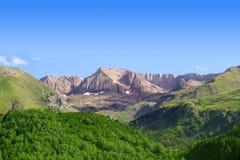 Pyrenees peaks Panticosa scenics Huesca Aragon Royalty Free Stock Photography