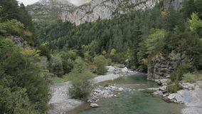 Pyrenees river Royalty Free Stock Photo