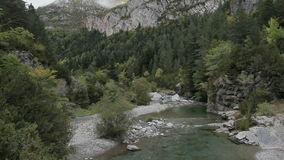 Pyrenees river Royalty Free Stock Image