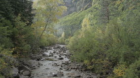 Pyrenees river Royalty Free Stock Images