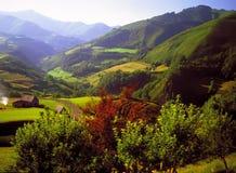 Pyrenees spagna Francia Immagini Stock