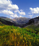 Pyrenees spain france Stock Photography