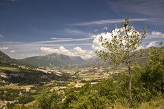 pyrenees spanjorsikt royaltyfri foto