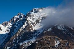Pyrenees in Tena valley Royalty Free Stock Photos