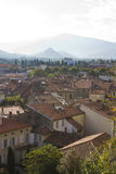 Pyrenees town travel Stock Image