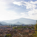 Pyrenees town travel Royalty Free Stock Photography