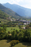 Pyrenees valley Royalty Free Stock Photography