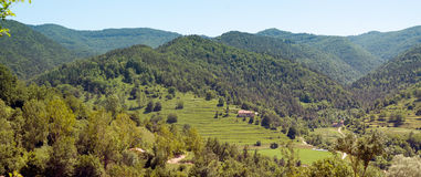 The Pyrenees Vallfogona de Ripolles Catalonia Royalty Free Stock Images